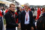 Mika Häkkinen und Damon Hill