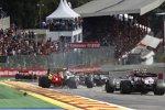 Daniel Ricciardo (Renault) und Lance Stroll (Racing Point)