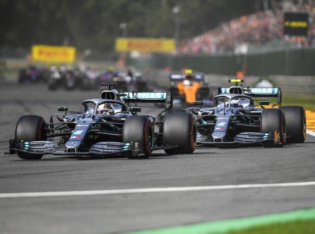 Lewis Hamilton, Valtteri Bottas, Lando Norris
