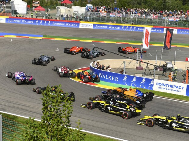 Start zum GP Belgien 2019 in Spa