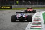 Charles Leclerc (Ferrari) und Daniil Kwjat (Toro Rosso)