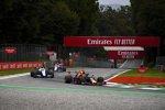 Max Verstappen (Red Bull), Robert Kubica (Williams) und Lance Stroll (Racing Point)
