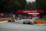Lando Norris (McLaren), Alexander Albon (Red Bull) und Sergio Perez (Racing Point)