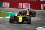 Nico Hülkenberg (Renault) und Max Verstappen (Red Bull)