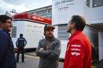 Fernando Alonso und Marc Gene