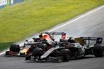 Kevin Magnussen (Haas) und Alexander Albon (Red Bull)