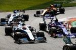 Pierre Gasly (Toro Rosso), Robert Kubica (Williams), George Russell (Williams) und Lando Norris (McLaren)