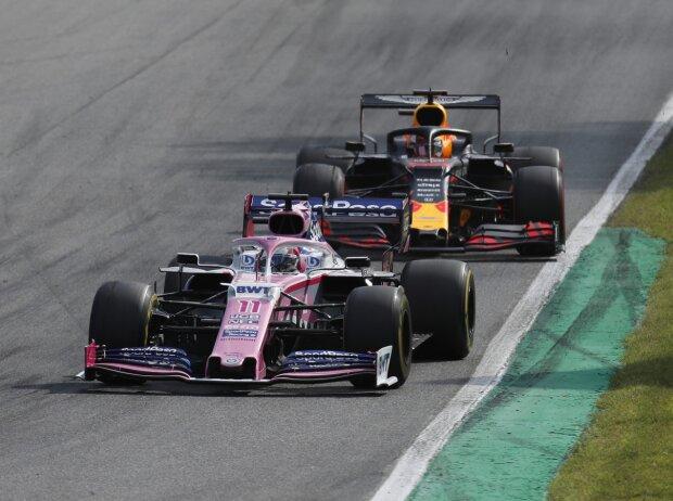 Sergio Perez, Max Verstappen