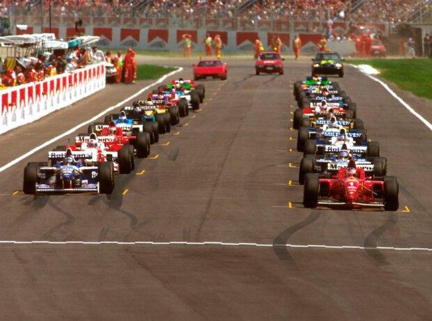 Michael Schumacher, Damon Hill Damon Hill