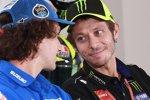 Alex Rins und Valentino Rossi