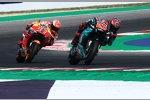 Fabio Quartararo (Petronas Yamaha) und Marc Marquez (Honda)