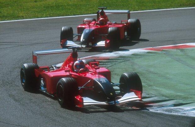 Rubens Barrichello Michael Schumacher Ferrari Scuderia Ferrari Mission Winnow F1Pons Pons MotoE ~Rubens Barrichello und Michael Schumacher ~