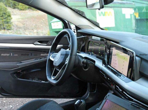VW Golf 8 Prototyp