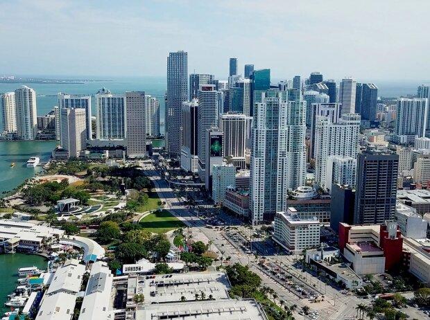 Miami: Bayfront Park und Biscayne Boulevard