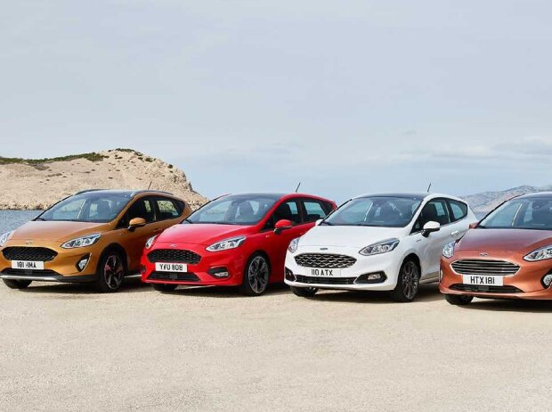 Ford Fiesta Line-Up