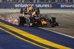 Alexander Albon (Red Bull) und Lando Norris (McLaren)