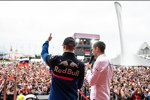 Daniil Kwjat (Toro Rosso) und Witali Petrow