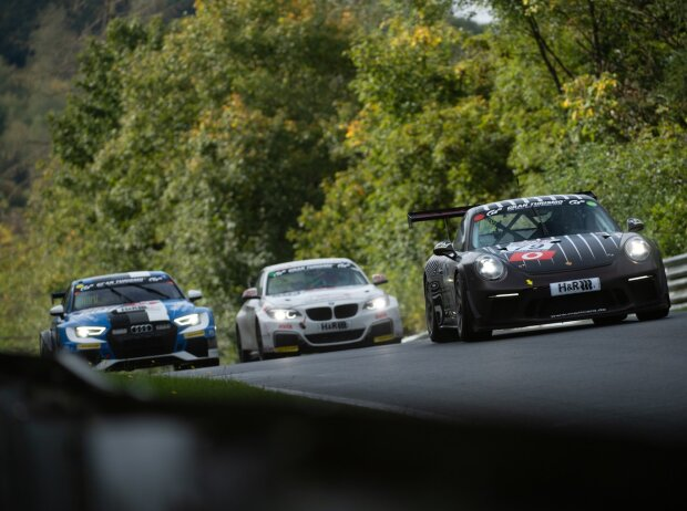 Porsche 911 GT3 Cup, Audi RS3 LMS, BMW M240i Racing