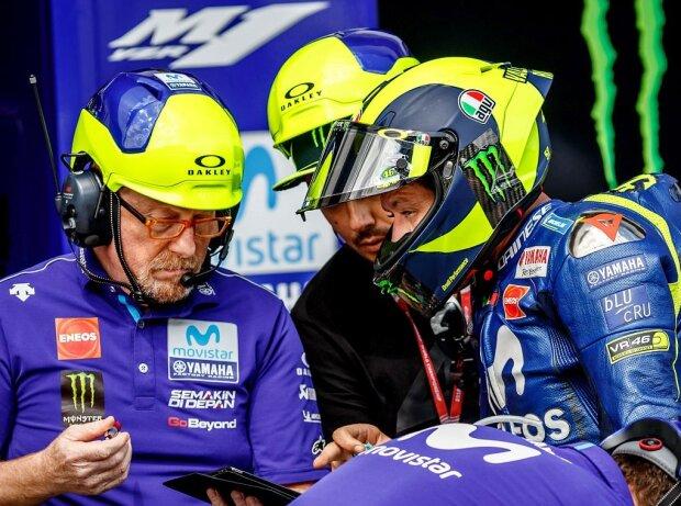 Valentino Rossi, Silvano Galbusera