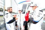 Timo Glock (RMG-BMW), Philipp Eng (RBM-BMW) und Joel Eriksson (RBM-BMW)