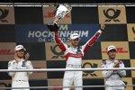 Marco Wittmann (RMG-BMW) und Mike Rockenfeller (Phoenix-Audi)