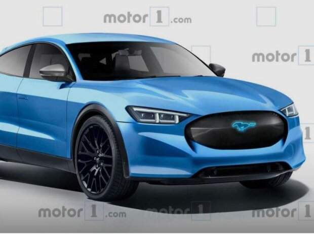 Ford SUV Rendering