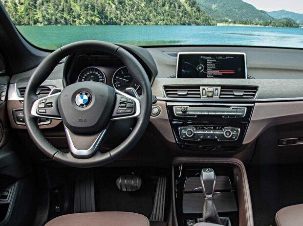 BMW X1, Interieur