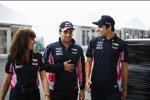 Sergio Perez (Racing Point) und Lance Stroll (Racing Point)