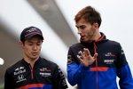 Naoki Yamamoto und Pierre Gasly (Toro Rosso)