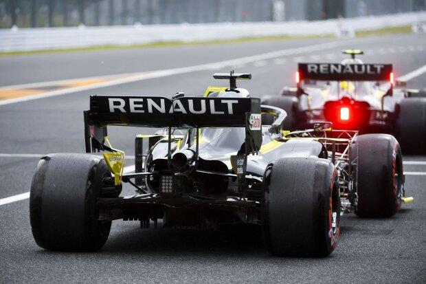 Nico Hülkenberg Daniel Ricciardo  ~Nico Hülkenberg (Renault) und Daniel Ricciardo (Renault) ~