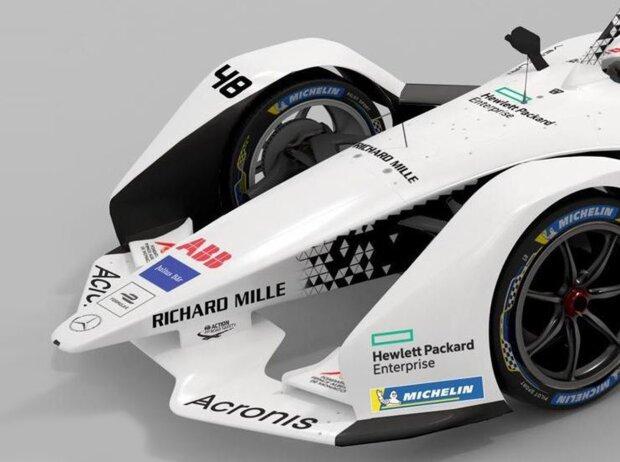 Bolide von Venturi Racing für die Formel E 2019/20