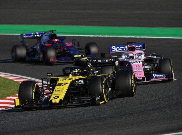 Nico Hülkenberg, Sergio Perez, Daniil Kwjat