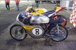 altes Honda-Motorrad RC142