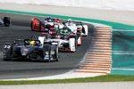 Oliver Rowland (Nissan e.dams), Neel Jani (Porsche) und Lucas di Grassi (Audi)