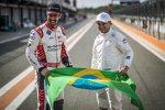 Lucas di Grassi (Audi) und Felipe Massa (Venturi)