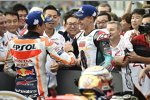 Marc Marquez (Honda) und Fabio Quartararo (Petronas Yamaha)