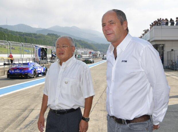 Gerhard Berger, Masaaki Bandoh
