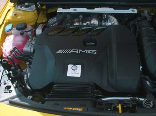 A 45-Motor von Mercedes-AMG