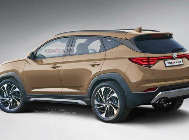 Hyundai Tucson (2021) in neuem Rendering