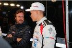 Fernando Alonso  und Ott Tänak