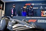 Lance Stroll (Racing Point), Pierre Gasly (Toro Rosso), Max Verstappen (Red Bull) und Lando Norris (McLaren)