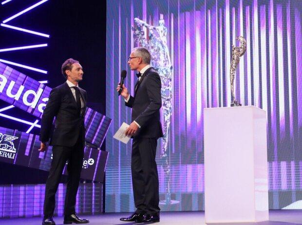 Mathias Lauda und Rainer Pariasek, Sportlergala Österreich 2019 in Wien