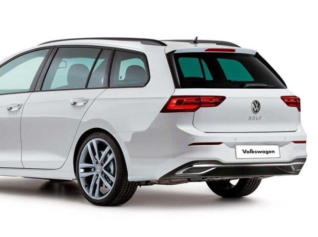 Volkswagen Golf 8 Variant Rendering