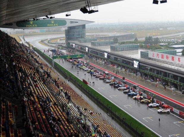 WEC Schanghai, Startaufstellung