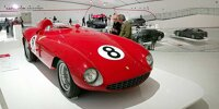 Im Museo Enzo Ferrari