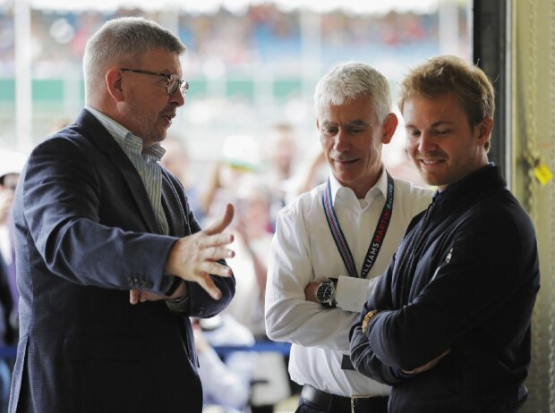 Ross Brawn, Nico Rosberg