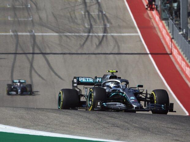 Valtteri Bottas, Lewis Hamilton