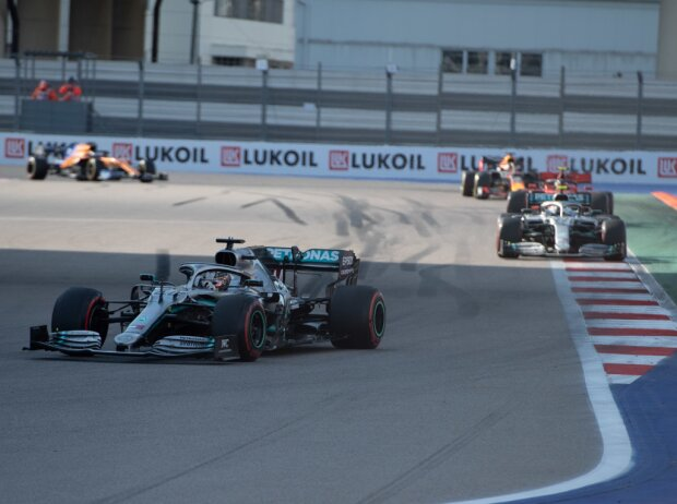 Lewis Hamilton, Valtteri Bottas, Charles Leclerc, Max Verstappen