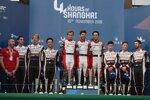 Kazuki Nakajima, Bruno Senna, Gustavo Menezes, Norman Nato, Mike Conway und Kamui Kobayashi