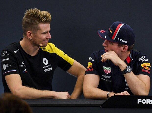 Nico Hülkenberg, Max Verstappen, Charles Leclerc